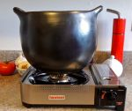 User:gracoman Name:La Chamba Soup Pot on the Iwatani .jpg Title:La Chamba Soup Pot on the Iwatani .jpg Views:8 Size:119.50 KB