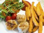 User:Lynne Name:Scallop Dinner With Greens.jpg Title:Scallop Dinner With Greens.jpg Views:3 Size:156.29 KB