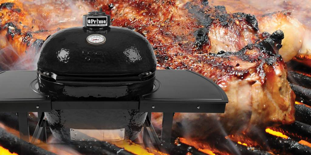 Review of Primo Lump Charcoal -- Naked Whiz Ceramic